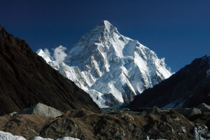 WORLD 2ND HIGHEST MOUNTAIN.(K2)
